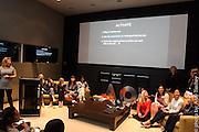 Mara Hitner and AOL colleagues