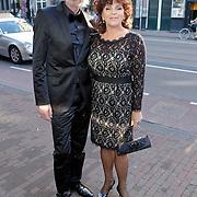NLD/Amsterdam/20111002 - Uitreiking John Kraaijkamp awards 2011, Henriette Tol en partner Rob Snoek