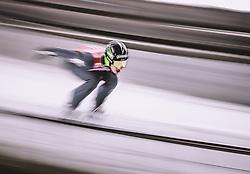 11.01.2019, Stadio del Salto, Predazzo, ITA, FIS Weltcup Skisprung, Val di Fiemme, Herren, Training, im Bild Timi Zajc (SLO) // Timi Zajc of Slovenia during the training jump of men's FIS Skijumping World Cup at the Stadio del Salto in Predazzo, Itali on 2019/01/11. EXPA Pictures © 2019, PhotoCredit: EXPA/ JFK