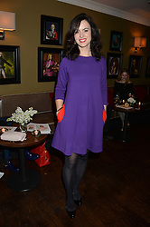 SALLY WOOD at a party to launch Madderson London Women's Wear held at Beaufort House, 354 Kings Road, London on 23rd January 2014.