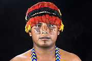 Achuar Native<br /> Jose Peas<br /> Quito<br /> Pichincha Province<br /> Ecuador<br /> South America