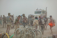 Party in the dust.