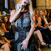 Ashleigh K performan at London Fashion GALA S/S 22  at The Royal Horseguards Hotel and One Whitehall Place on 2019-09-17, London, UK.