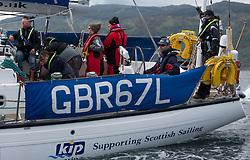 Day three of the Silvers Marine Scottish Series 2016, the largest sailing event in Scotland organised by the  Clyde Cruising Club<br /> Racing on Loch Fyne from 27th-30th May 2016<br /> GBR67L, Clyde Challenger, G Porter, CCC, Colvic 60<br /> <br /> Credit : Marc Turner / CCC<br /> For further information contact<br /> Iain Hurrel<br /> Mobile : 07766 116451<br /> Email : info@marine.blast.com<br /> <br /> For a full list of Silvers Marine Scottish Series sponsors visit http://www.clyde.org/scottish-series/sponsors/