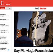 "Screengrab of ""Marriage equality referendum in Ireland"" in TIME.com"