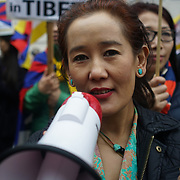 London,England,UK. 10th March 2017. Hundreds of Tibetan's protests outside Chinese embassy to commemorate the 58th anniversary of Tibetan in London in fact Tibetan demands of it own Tibetan languages instead Chinese as first languages and the protest not against China investment and building Tibet's most Tibetan's are happy with Chinese investment and building Tibet's economy and demand more right to practice Tibetan religion inUK. by See Li
