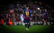 Leo Messi during the Spanish league football match of 'La Liga'  FC BARCELONA against RAYO VALLECANO at Camp Nou Stadium of Barcelona on March 9,2019