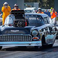 Steve Aldridge (2767) - 1955 Chevrolet Belair Top Doorslammer.