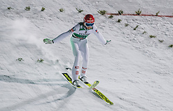 28.02.2020, Salpausselkae Hill, Lahti, FIN, FIS Weltcup Ski Sprung, Herren, im Bild Philipp Aschenwald (AUT) // Philipp Aschenwald of Austria during the men's FIS Ski Jumping World Cup at the Salpausselkae Hill in Lahti, Finland on 2020/02/28. EXPA Pictures © 2020, PhotoCredit: EXPA/ JFK