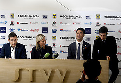 November 15, 2017 - Saint Trond, Belgique - SINT TRUIDEN, NOVEMBER 15 :  Yusuke Muranaka new owner of Sint Truiden football club pictured during press conference about the future of STVV on november 15, 2017 in Sint - Truiden, Belgium (Credit Image: © Panoramic via ZUMA Press)