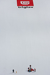17.03.2011, Planica, Kranjska Gora, SLO, FIS World Cup Finale, Ski Nordisch, Skiflug, im Bild Sturz von Daiki Ito (JPN, #58) // Fall Daiki Ito (JPN) during a training session of the Ski Jumping World Cup finals in Planica, Slovenia, 17/3/2011. EXPA Pictures © 2011, PhotoCredit: EXPA/ J. Groder