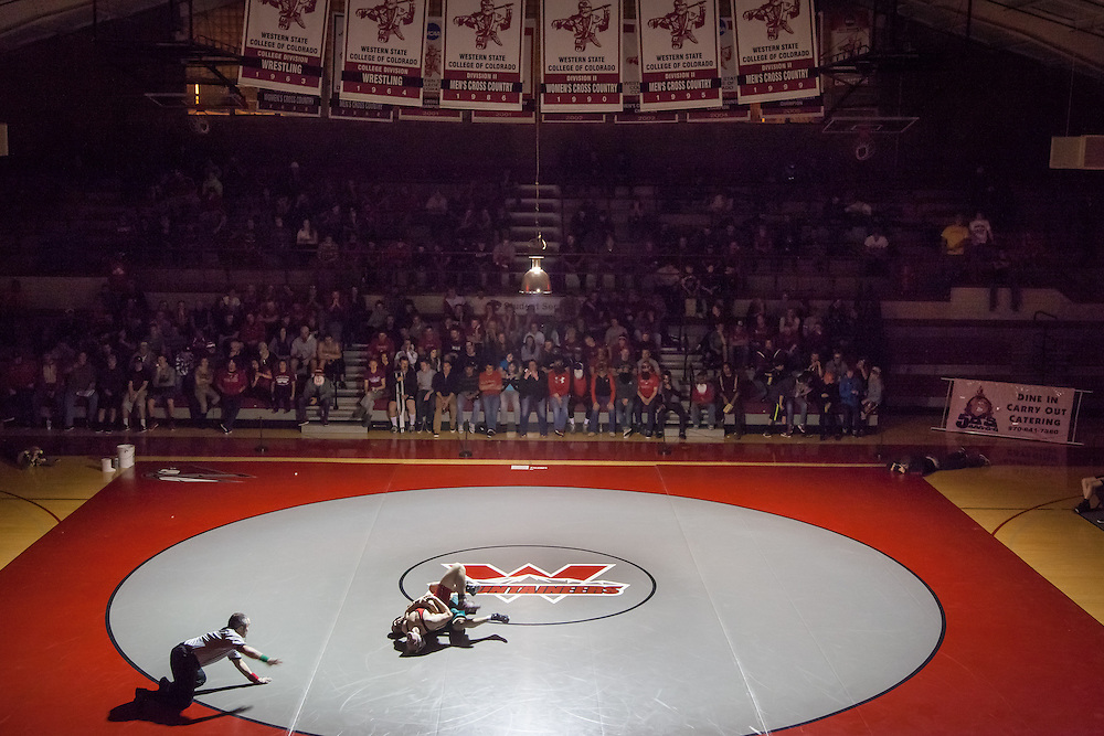Western wrestlers take on Adams State.