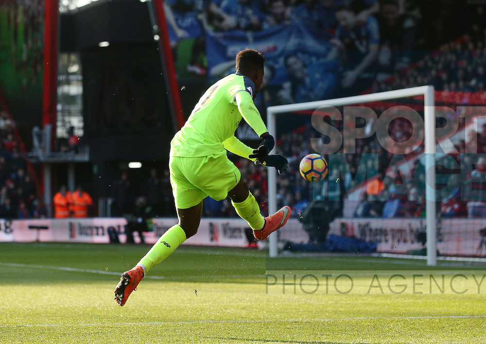 Liverpool's Divock Origi scoring his sides second goal during the Premier League match at the Vitality Stadium, London. Picture date December 4th, 2016 Pic David Klein/Sportimage