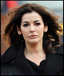 The TV Chef Nigella Lawson arrives at Isleworth Crown Court. London, United Kingdom. Thursday, 5th December 2013. The TV chef will continue to give evidence at the trial for Francesca and Elisabetta Grillo, who appear charged with fraud after allegedly using a company credit card to defraud the TV chef and her former husband out of £300,000. Picture by Andrew Parsons / i-Images<br /> File Photo  - Nigella Lawson and Charles Saatchi PAs cleared of fraud. The trial of Francesca Grillo, 35, and sister Elisabetta, 41, heard they spent £685,000 on credit cards owned by the TV cook and ex-husband Charles Saatchi.<br /> Photo filed Monday 23rd December 2013