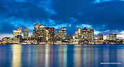 Boston skyline commercial real estate photography, advertising and marketing for brokers, realtors, property management, and tenants