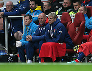 Arsenal's Arsene Wenger looks on dejected<br /> <br /> - Champions League Group D - Arsenal vs Anderlecht- Emirates Stadium - London - England - 4th November 2014  - Picture David Klein/Sportimage