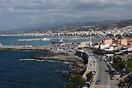 Rethymnon, the third largest city on the island of Crete in Greece.  Photograph by Dennis Brack