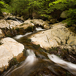 A small tributary of the West branch of the Westfield River in Chester, Massachuetts. Keystone Arch Bridge Trail.
