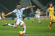 Joe Lolley (Huddersfield Town) during the Sky Bet Championship match between Huddersfield Town and Rotherham United at the John Smiths Stadium, Huddersfield, England on 15 December 2015. Photo by Mark P Doherty.