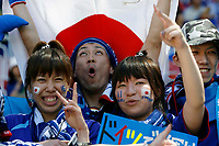 Photo: Glyn Thomas.<br />Australia v Japan. Group F, FIFA World Cup 2006. 12/06/2006.<br /> Japanese fans.