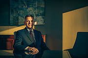 Jim Tencza, director of assurance services at Dean Dorton, poses for a portrait in his downtown offices.