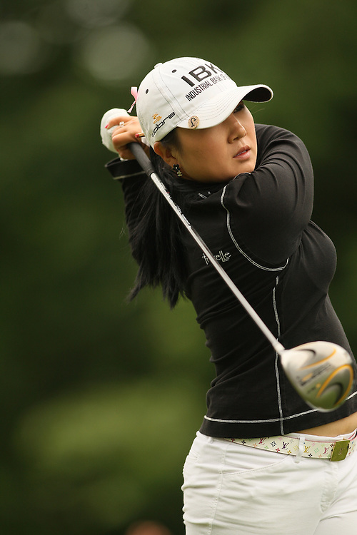 Jeong Jang during the fourth round of the 2008 Michelob Ultra Open in Williamsburg, Virginia at Kingsmill Resort on Sunday, May 11, 2008. .