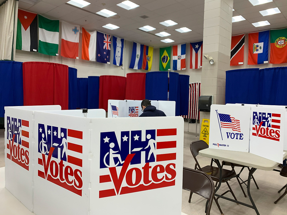 Voting begins at 6am in Nashua, New Hampshire's Ward 8