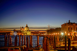 General views of Venice at night. From a series of travel photos in Italy. Photo date: Tuesday, February 12, 2019. Photo credit should read: Richard Gray/EMPICS