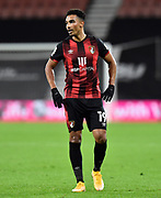 Junior Stanislas (19) of AFC Bournemouth during the EFL Sky Bet Championship match between Bournemouth and Nottingham Forest at the Vitality Stadium, Bournemouth, England on 24 November 2020.