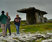 Poulnabrone Dolmen, a Portal Tomb in County Claire. Image taken with a Nikon 1 V1 camera and 30-110 mm lens (ISO 200, 30 mm, f/5.6, 1/320 sec).