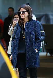 October 26, 2016 - New York, New York, United States - Actor Sandra Bullock on the set of the new movie 'Ocean's Eight' on October 26 2016 in New York City  (Credit Image: © Zelig Shaul/Ace Pictures via ZUMA Press)