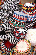 Hats for sale on Kitchener's Island, Aswan, Egypt