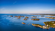 Thimble Islands looking West