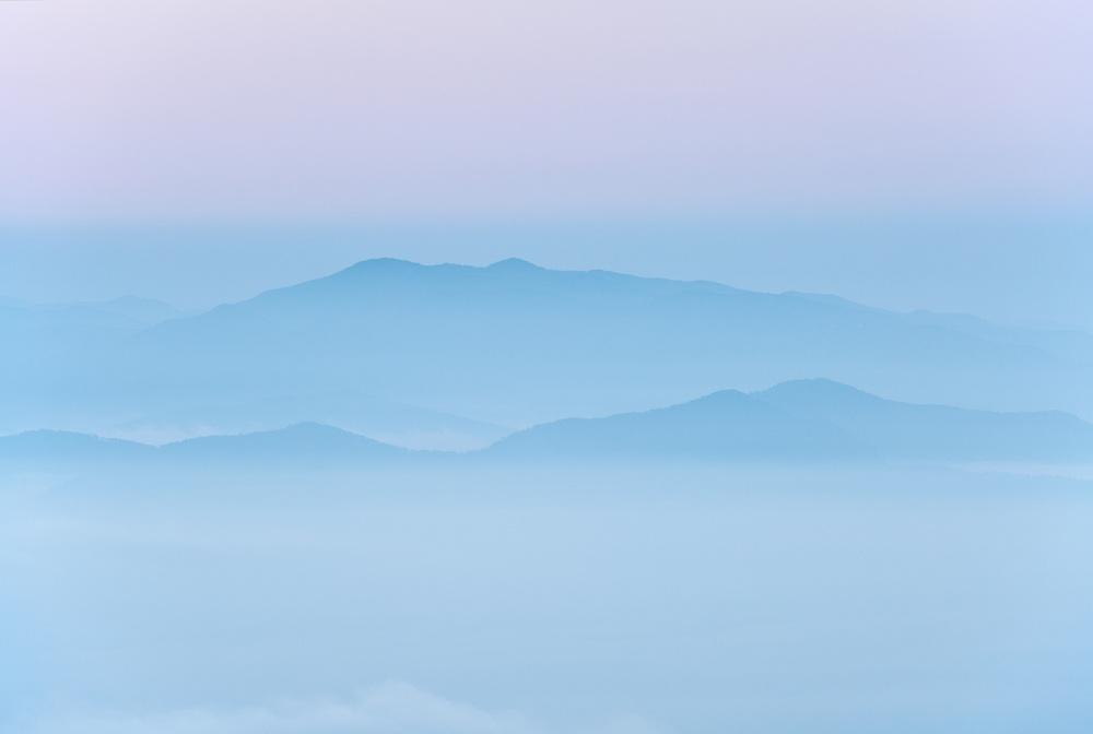 Pastel morning, Roan Highlands