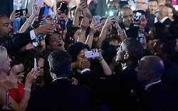 U.S. President Barack Obama checks hands with guests during the 39th Annual Congressional Hispanic Caucus Institute Public Policy Conference and Annual Awards Gala, September 15 2016, in Washington, DC. Photo by Olivier Douliery/Abaca