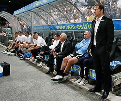 03.08.2011, UPC Arena, Graz, AUT, CL-Qualifiers, SK Sturm Graz vs. FC Zestafoni, im Bild Franco Foda (SK Sturm Graz, Headcoach), EXPA Pictures © 2011, PhotoCredit: EXPA/ Erwin Scheriau