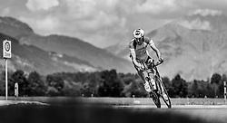 28.08.2016, Zell am See Kaprun, AUT, IRONMAN 70.3 Salzburg, im Bild Lukas Hollaus (AUT) // Lukas Hollaus (AUT) during IRONMAN 70.3, Salzburg at Zell am See- Kaprun, Austria on 2016/08/28. EXPA Pictures © 2016, PhotoCredit: EXPA/ JFK