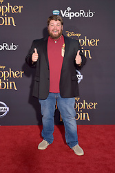 July 30, 2018 - Burbank, Kalifornien, USA - Brian Hull bei der Premiere des Kinofilms 'Christopher Robin' in den Walt Disney Studios. Burbank, 30.07.2018 (Credit Image: © Future-Image via ZUMA Press)