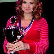 NLD/Amsterdam/20100414 - Uitreiking Mama van het Jaar 2010, best Geklede mama van het jaar, Marlies Dekkers