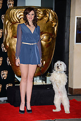 Ashleigh and Pudsey attends The British Academy Children's Awards 2013. Hilton Park Lane, London, United Kingdom. Sunday, 24th November 2013. Picture by Chris Joseph / i-Images