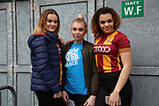 Bradford City supporters prior to the EFL Sky Bet League 1 match between Bradford City and Gillingham at the Northern Commercials Stadium, Bradford, England on 24 March 2018. Picture by Mick Atkins.