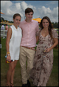 Emily Pearson; Montague Pearson, 2004 Veuve Clicquot Gold Cup Final at Cowdray Park Polo Club, Midhurst. 20 July 2014