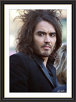 RUSSELL BRAND jan 2007 Museum-quality Large A2 Archival signed Framed Print £500