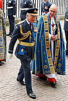Charles, Prince of Wales at the RAF centenary ceremony held at Westminster Abbey in London, UK on the 10th July 2018.