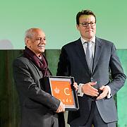 NLD/Amsterdam/20151202 - Koninklijke Familie bij uitreiking Prins Claus Prijs 2015, Latif Al-Ani