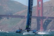 SailGP Team USA practice in San Francisco.