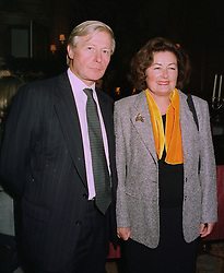 SIR BERNARD & LADY DE HOGHTON BT at a reception in London on 13th October 1997.MCA 44