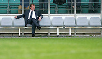 Photo: Paul Thomas.<br />Estonia v England. UEFA European Championships Qualifying, Group E. 06/06/2007.<br /><br />A relaxed Steve McClaren, England manager, before the game.