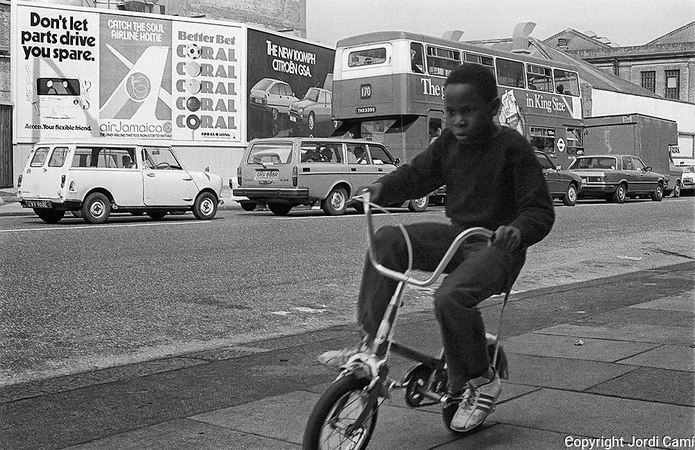 Battersea.London. April 1980