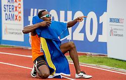 08-07-2016 NED: European Athletics Championships day 3, Amsterdam<br /> Liemarvin Bonevacia pakt de bronzen medaille
